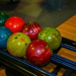 Bowling balls of varying weight and size