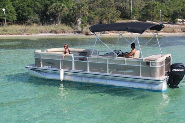 Destin boat rental at Gulf Islands National Seashore