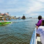 Sightseeing tour in the Destin Harbor