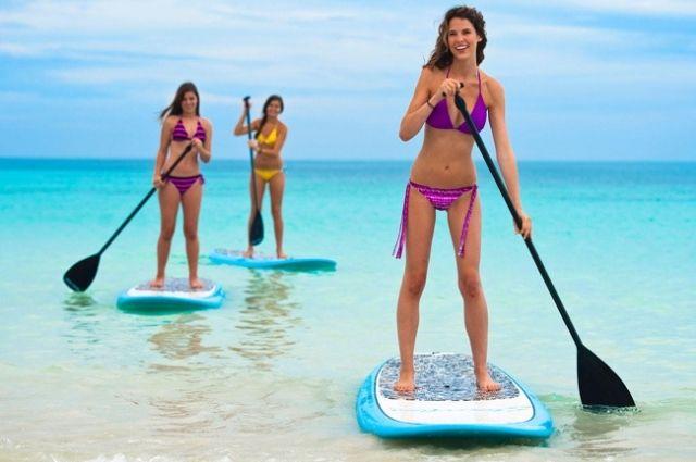 paddleboarding in Destin-FWB