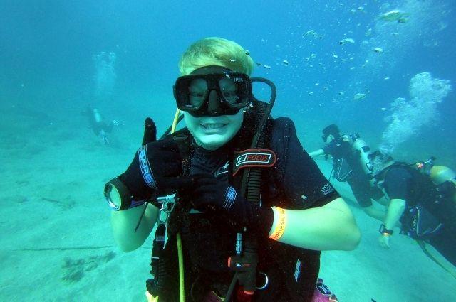 scuba diving in Destin, FL