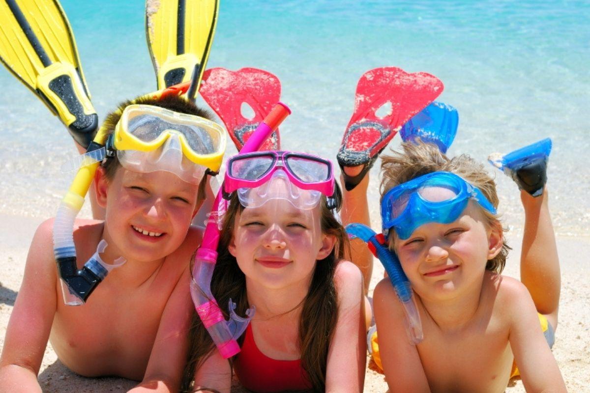 snorkeling at Destin's beautiful beaches