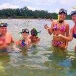 snorkeling at Gulf Islands National Seashore