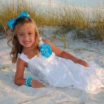 special occasion photo shoot at the beach in Destin