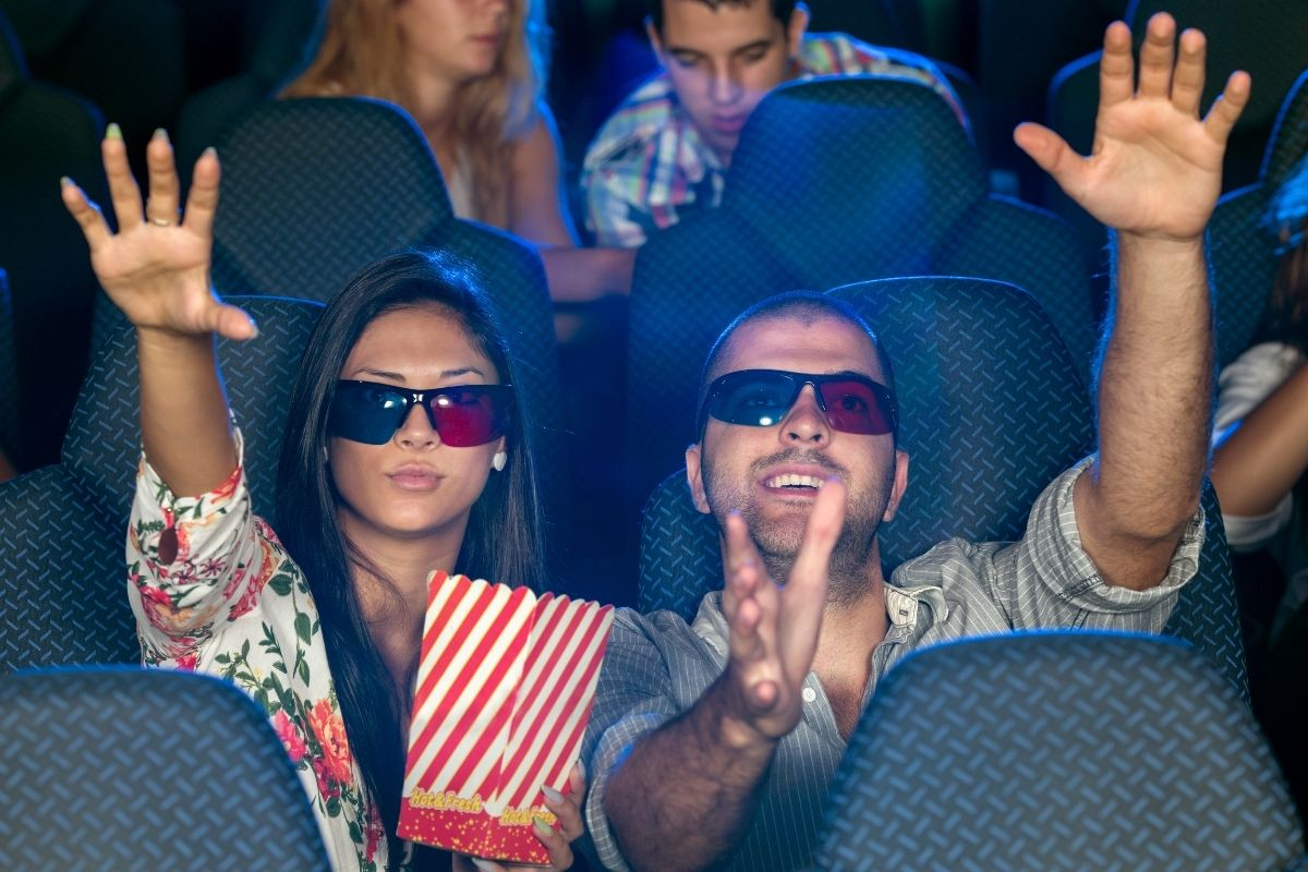 4D movie theater at Wild Willy's Adventure Zone
