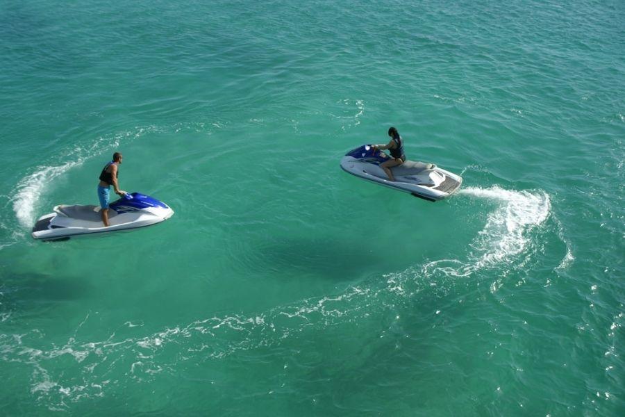 Crab Island jet ski rentals