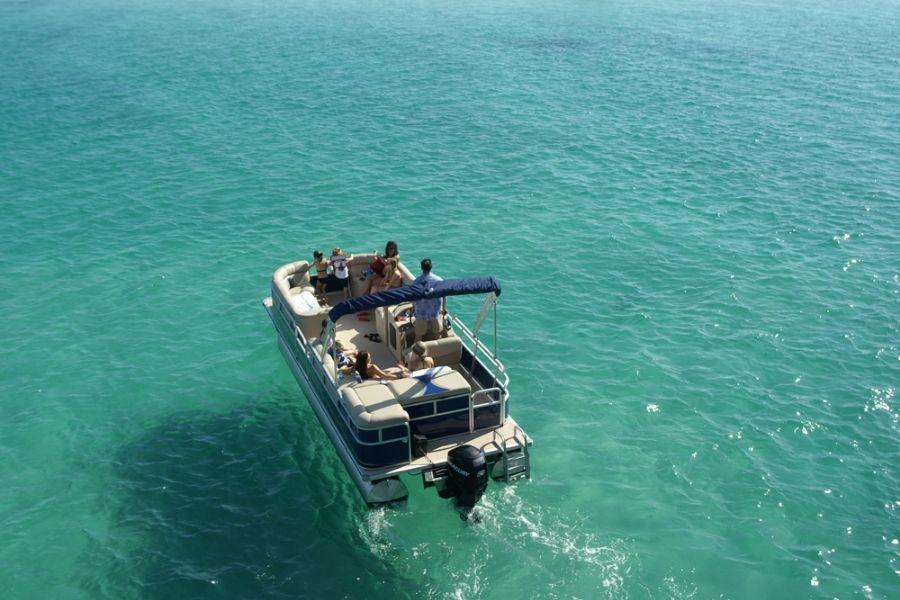 Crab Island private charter