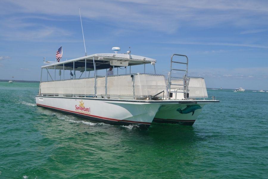 Crab Island shuttle service