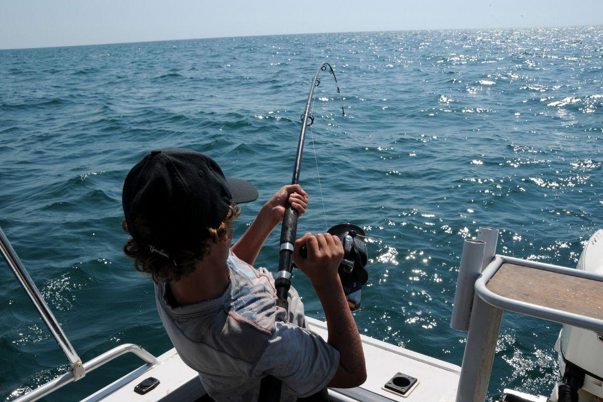 Deep Sea Fishing during the Destin Cobia Tournament