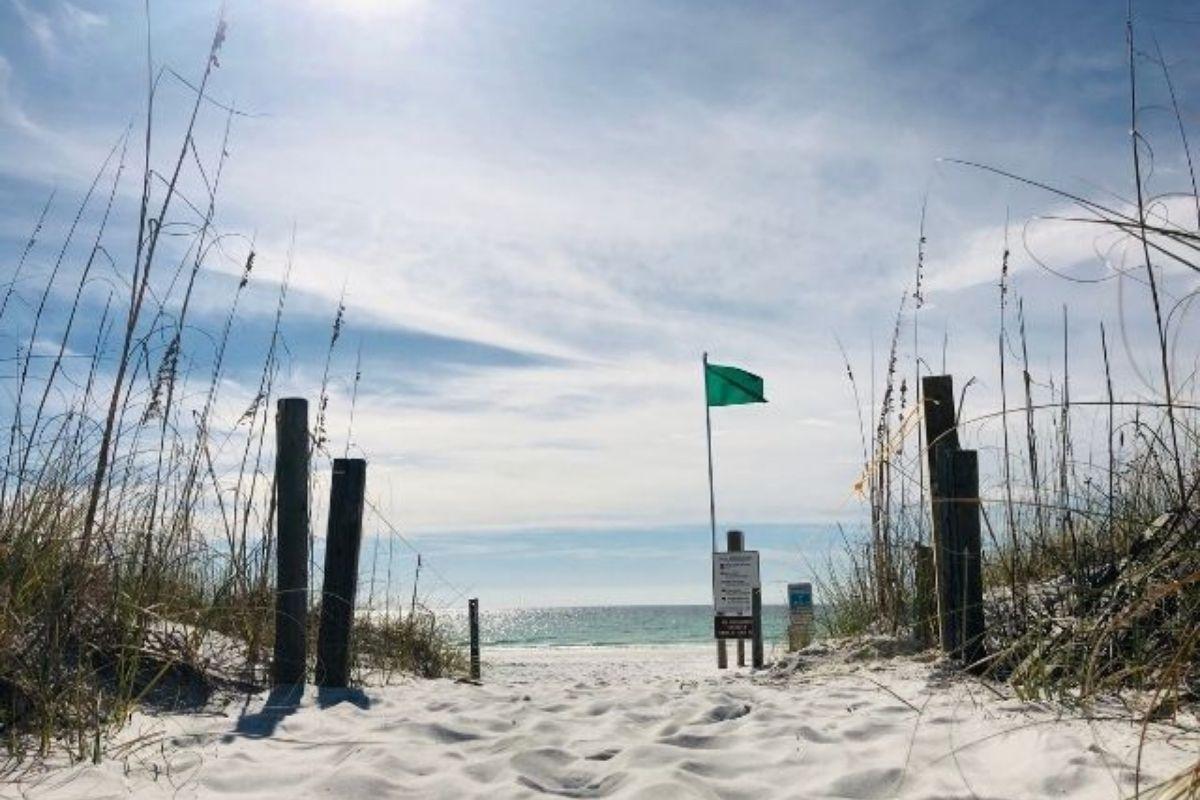 beach park in Destin, FL