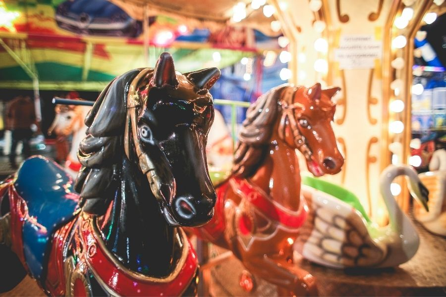 carousel at Baytowne Wharf