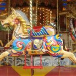 carousel at The Track in Destin