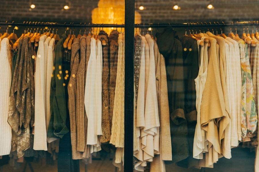 clothing shop at Uptown Station