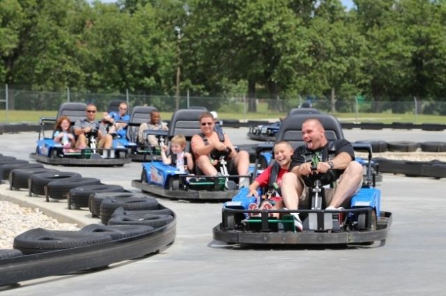 family fun at Wild Willy's Adventure Zone