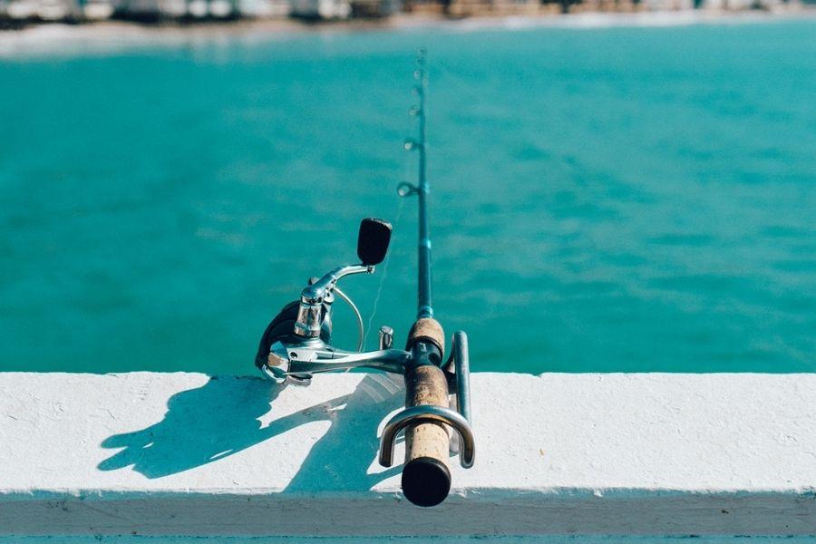 fishing at the Okaloosa Island Boardwalk