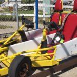 go kart at The Track in Destin