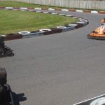 go kart track at The Track in Destin