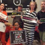 group escapes from a Destin-FWB escape room