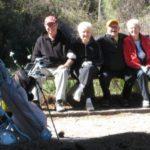 group on the executive golf course at Golf Garden