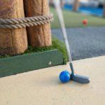 mini golf at Wild Willy's