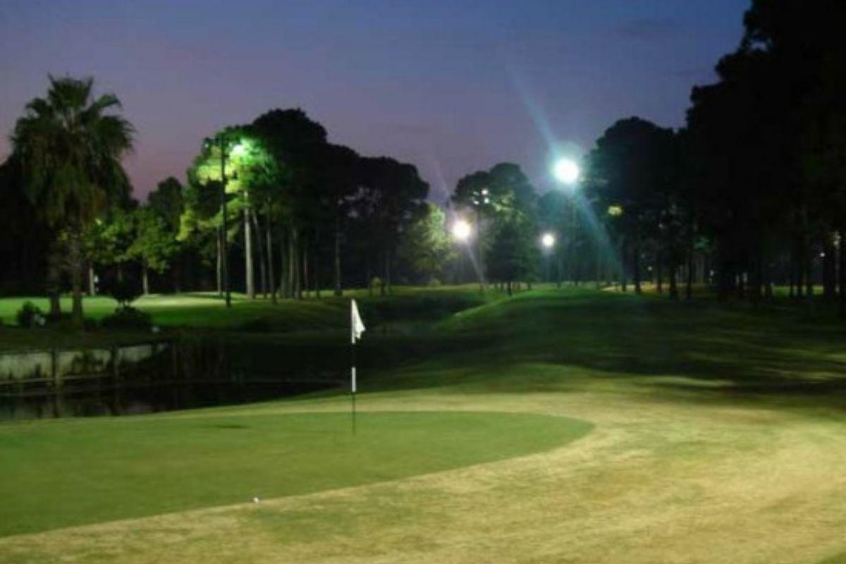 nighttime golfing at Golf Garden of Destin