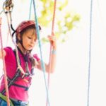 ropes course at Sandestin's Baytowne Adventure Zone