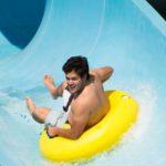 water slide at Big Kahuna's